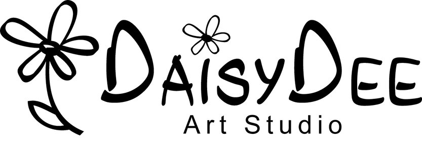 DaisyDee Art Studio Logo