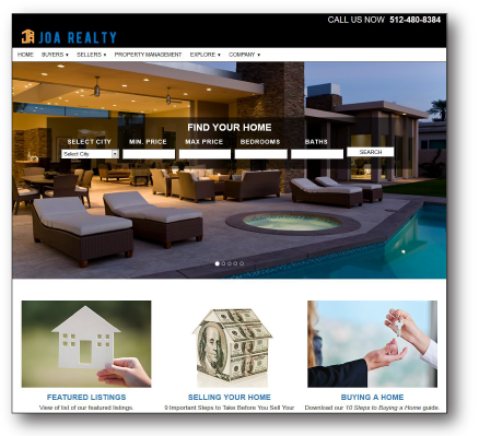 Joa Realty Website Project