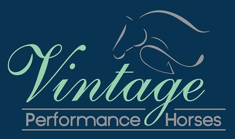 Vintage Performance Horses Logo