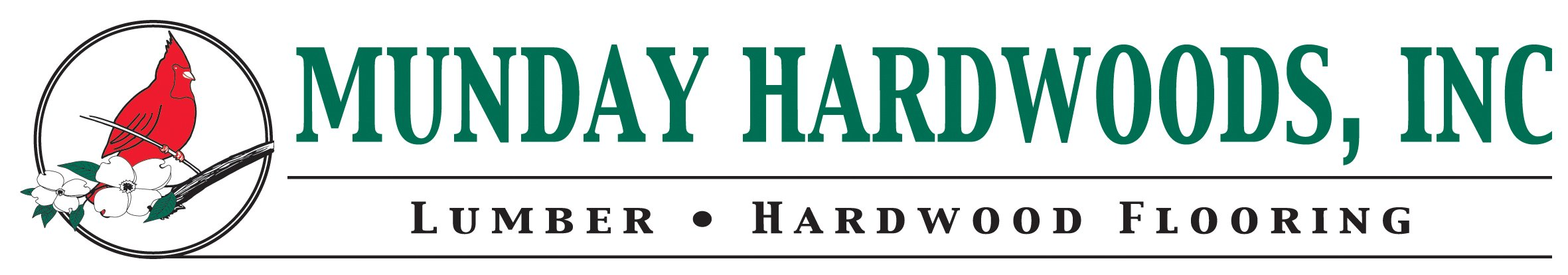 Munday Hardwoods, Inc. Logo