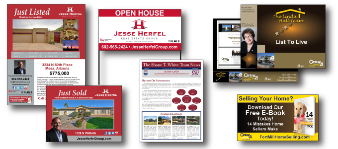 Real Estate Print and Marketing
