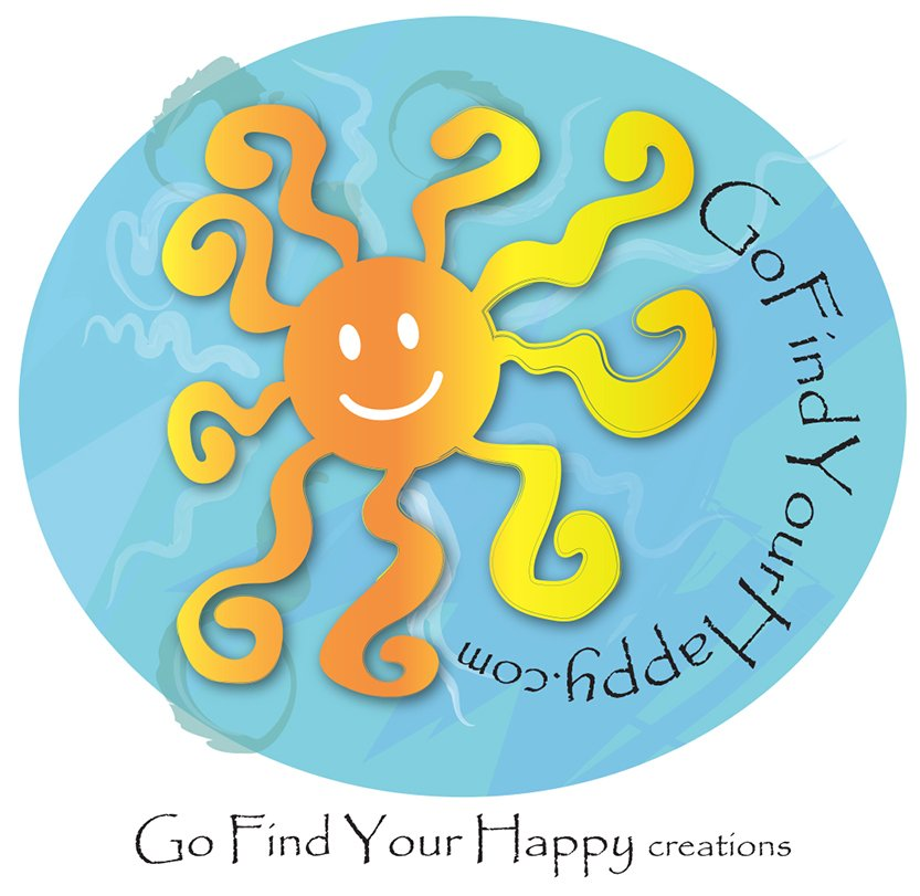 Go Find Your Happy Logo