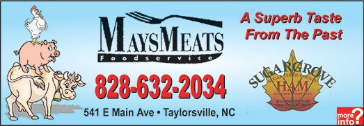 Mays Meat Processing Ad