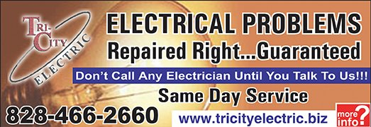 Tri-City Electric Ad