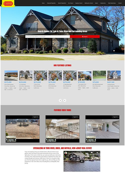 casseserealtors.com new website