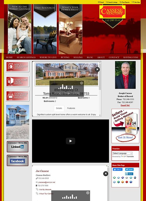 casseserealtors.com old website