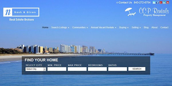 buyandrentmyrtlebeach.com website
