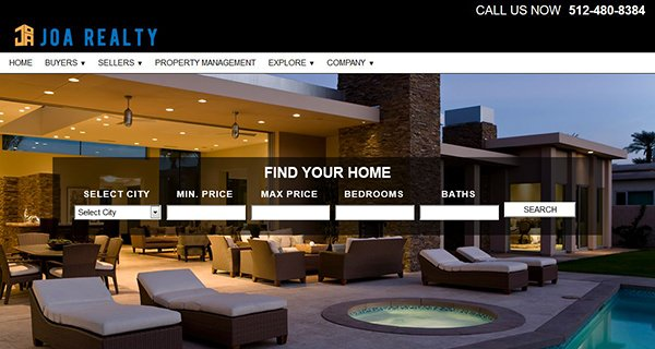 Joe Realty Website