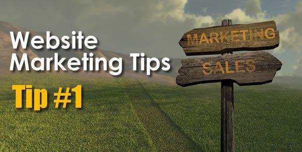 Website Marketing Tips - Content Marketing