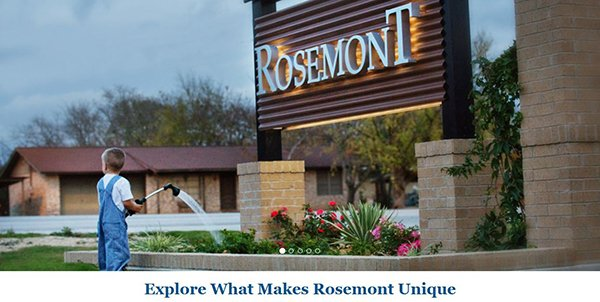 Rosemont Liberty Hill Website