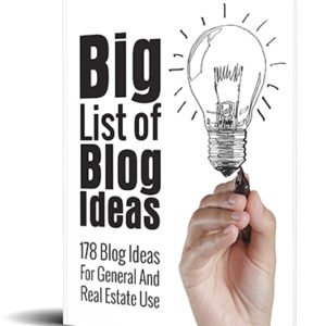 Big List of Blog Ideas eBook