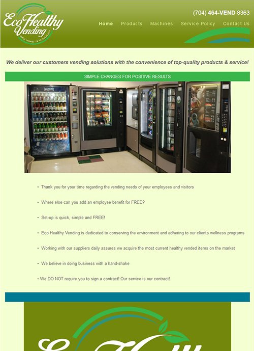 Select Refreshment Services website before