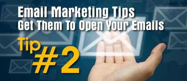 Email Tip #2 - 5 Tips For Crafting Compelling Subject Lines