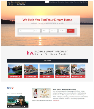 ChristyWalker.com Real Estate Website