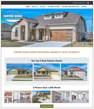 CopperRidge.house Construction Website