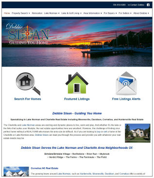 LakeAndGolfProperties.com Real Estate Website