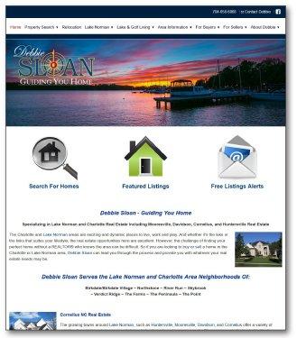 Debbie Sloan Real Estate Website
