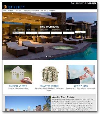 Joe Realty Website