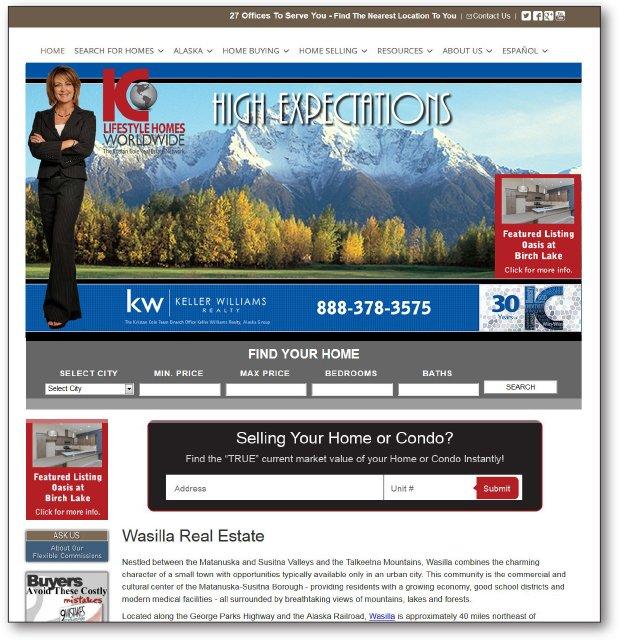Real Estate Website - KristanCole.com
