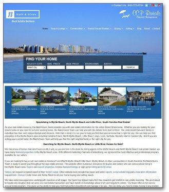 Nash/Given Team Real Estate Website
