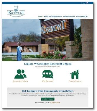 Rosemont Liberty Hill Website