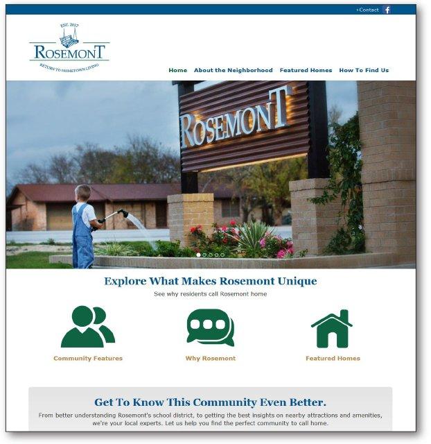 Rosemont Libertyhill Website