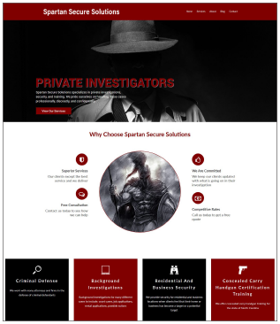 S3Investigations.com Private Investigator Website