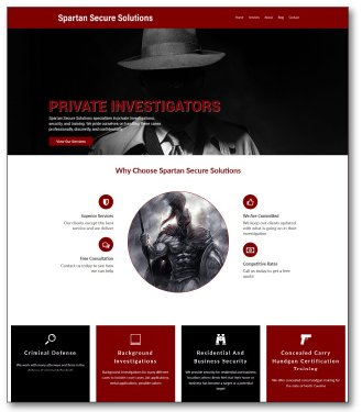 Spartan Secure Solutions new website