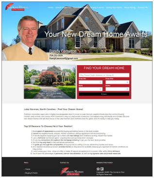 TheCameronPros.com Real Estate Website