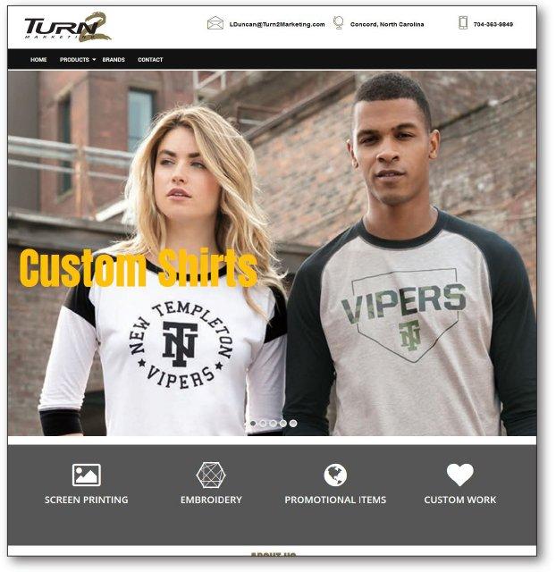 Turn 2 Marketing Website