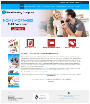 WorldFundingCompany.com Real Estate Website