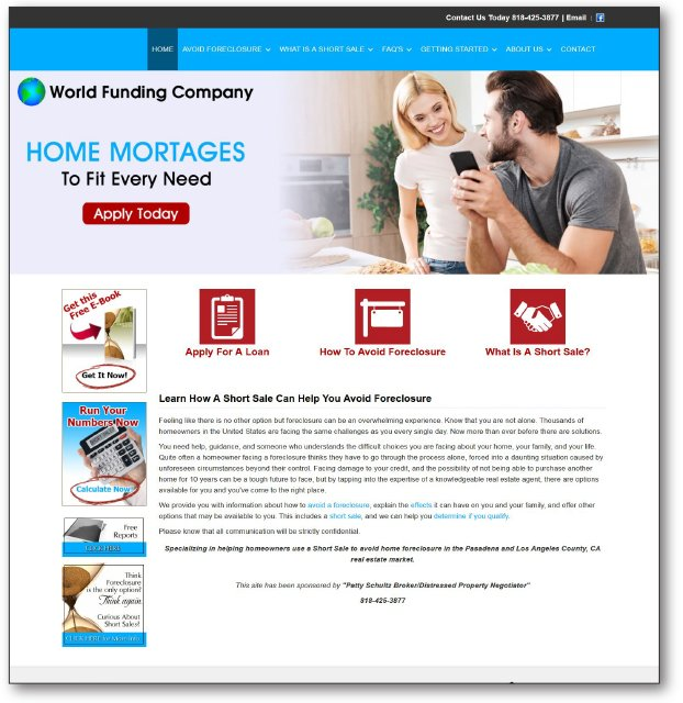 WorldFundingCompany.com website