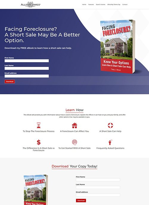 Real Estate Website - vaquicksell.com